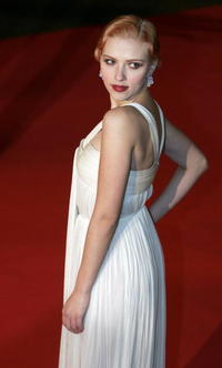 Scarlett Johansson at the London premiere of