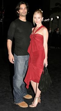 Johnathon Schaech and Christina Applegate at the Rodeo Drive Walk of Style Event.