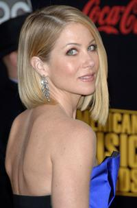 Christina Applegate at the 2007 American Music Awards held at the Nokia Theatre L.A. LIVE.
