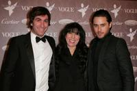 Brent Bolthouse, guest and Jared Leto at the