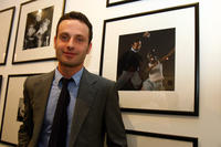 Andrew Lincoln at the Home Time Exhibition in England.
