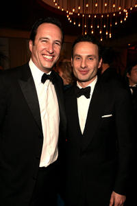 AMC President Charlie Collier and Andrew Lincoln at the AMC's 2011 Golden Globe Awards party.