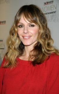 Monet Mazur at the Hollywood Reporter's Women in Entertainment breakfast honoring Jodie Foster.