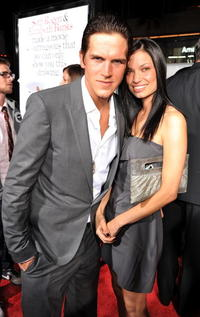 Jason Mewes and Guest at the premiere of