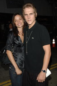 Tori Monsanto and Jason Mewes at the premiere of