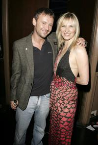 John Simm and Jo Whiley at the Shockwaves NME Awards 2006.