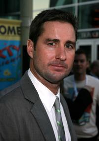 Luke Wilson at the premiere of