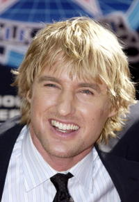Owen Wilson on the Hollywood Walk of Fame in Hollywood.