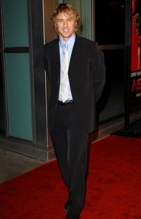 """Owen Wilson at the premiere of """"I SPY"""" in Hollywood."""