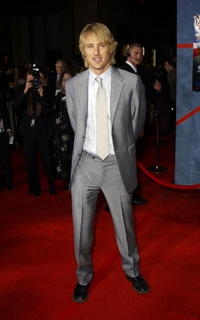 """Owen Wilson at the premiere of """"Shanghai Knights"""" in Hollywood."""