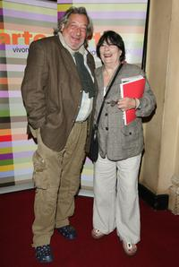 Jean-Claude Dreyfus and his wife at the premiere of