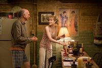 Larry David as Boris and Evan Rachel Wood as Melody in