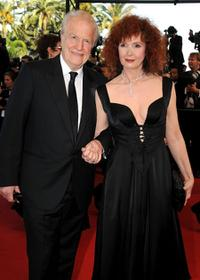 Andre Dussollier and Sabine Azema at the premiere of