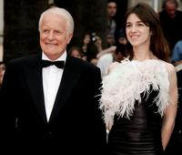 Andre Dussollier and Charlotte Gainsbourg at the premiere of