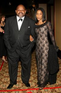 Charles S. Dutton and guest at the 59th annual Directors Guild of America Awards held at Hyatt Regency Century Plaza.