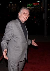 Alan Ford at the premiere of
