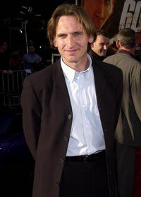 Christopher Eccleston at the premiere of his new film