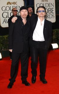 The Edge and Bono at the 60th Annual Golden Globe Awards.