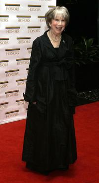 Julie Harris at the Annual Kennedy Center Honors dinner.