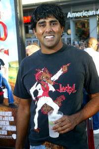 Jay Chandrasekhar at the premiere of