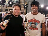 Billy Gerber and Jay Chandrasekhar at the premiere of