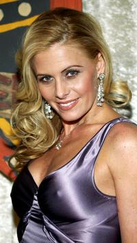 Nicole Eggert at the Los Angeles premiere viewing party for
