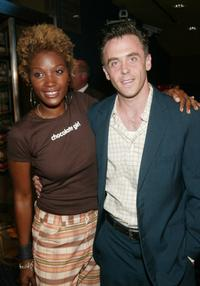 Yolonda Ross and David Eigenberg at the New York premiere of