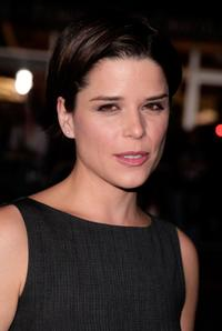 Neve Campbell at the premiere of