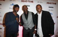 Brian Hooks, Bobby Jackson and director Dean Taylor at the premiere of