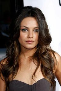 Mila Kunis at the premiere of
