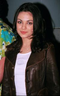 Mila Kunis at the Nintendo Party at First National Building.