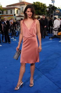 Brooke Langton at the premiere of