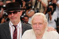 Jacques Audiard and Niels Arestrup at the photocall of