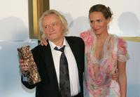 Niels Arestrup and Judith Godreche at the 31st Nuit des Cesar, France's top movie Awards.