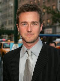 Edward Norton at the photocall for