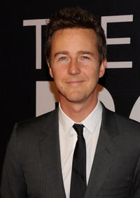 Edward Norton at the New York premiere of