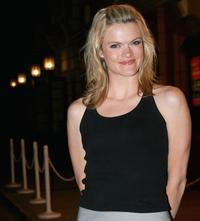 Missi Pyle at the Jet Blues Los Angeles Launch Event.
