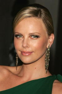 Charlize Theron at the Gucci Spring 2006 Fashion Show.
