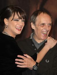 Asia Argento and Dario Argento at the Black Carpet for