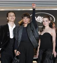Asia Argento, Fu'ad Ait Aattou and Roxane Mesquida at the screening of