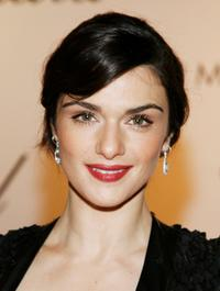 Rachel Weisz at the Chorpard flagship store opening on Madison Avenue.