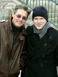 Cary Elwes and Kyle MacLachlan at the main street during Sundance Film Festival.