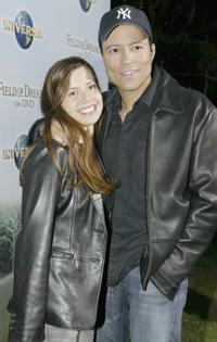 Anna Diaz and Yancey Arias at the 15th Anniversary DVD Release Celebration of