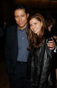Yancey Arias and his wife Anna at the 7th Annual Art Directors Guild Awards.