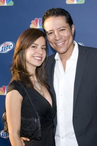 Anna Alvim and Yancey Arias at the NBC's Fall Premiere Party.