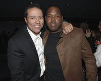 Yancey Arias and Don Wilson at the after party premiere screening of