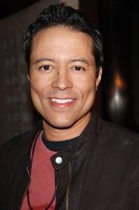 Yancey Arias at the premiere of