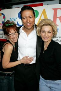 Mindy Sterling, Yancey Arias and Lorna Patterson at the WeSPARKLE Variety Hour to benefit weSPARK Cancer Support Center.