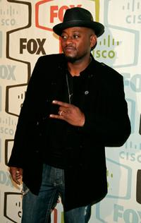 Omar Epps at the FOX Fall Eco-Casino party.