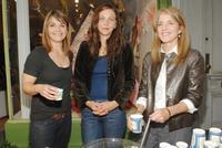 Kathryn Erbe, Maggie Gyllenhaal and Caroline Kennedy Schlossberg at the fund's fourth annual shop for class program.